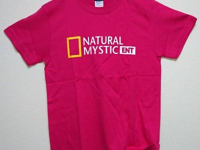 ナチュミス Tシャツ(トロピカルピンク)