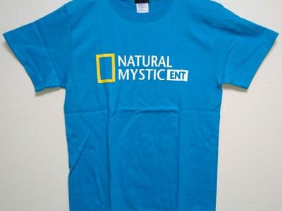 ナチュミス Tシャツ(ターコイズブルー)