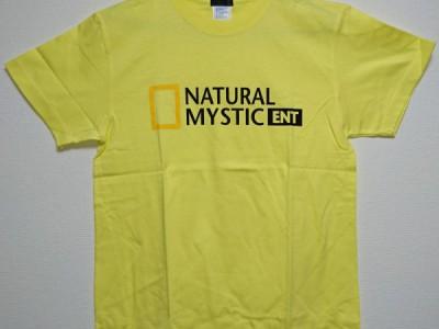 ナチュミス Tシャツ(ライトイエロー)