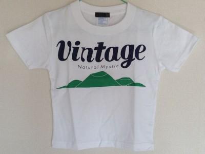 VINTAGE キッズTシャツ(白)
