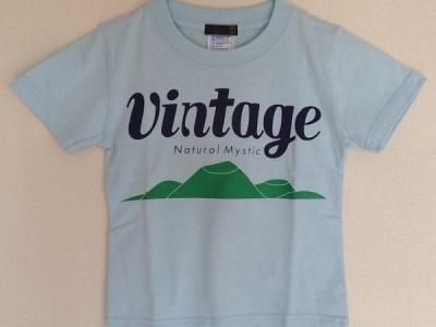 VINTAGE キッズTシャツ(ライトブルー)