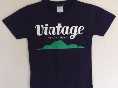 VINTAGE キッズTシャツ(ネイビー)