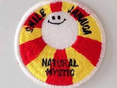 スマイルジャマイカ刺繍ワッペン