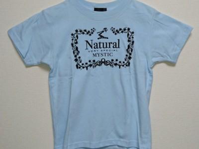 Natural VS キッズTシャツ(ライトブルー)