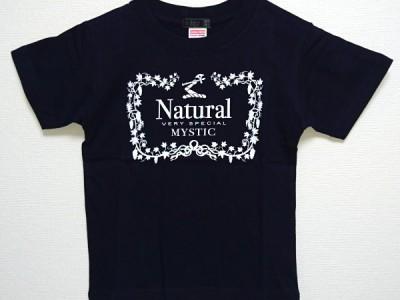 Natural VS キッズTシャツ(ネイビー)