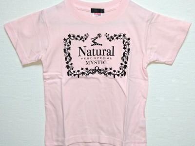 Natural VS キッズTシャツ(ライトピンク)