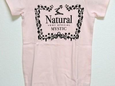 Natural VS ロンパース半袖(ライトピンク)