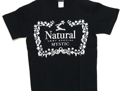 Natural VS Tシャツ(黒)