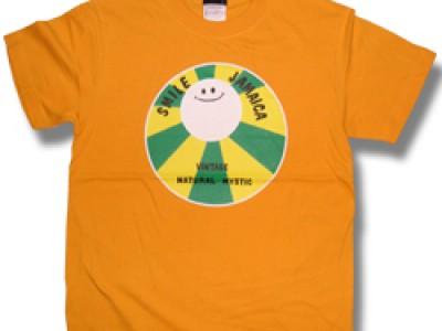 Smile Jamaica Tシャツ(ゴールド)