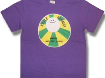 Smile Jamaica Tシャツ(紫)