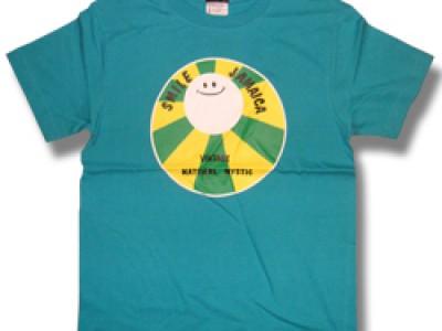 Smile Jamaica Tシャツ(ターコイズ)