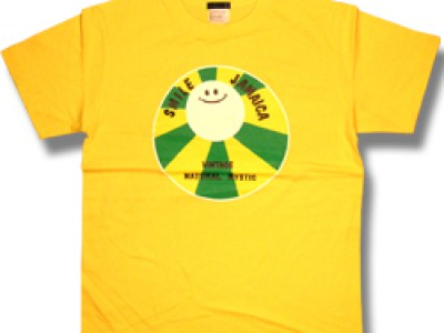 Smile Jamaica Tシャツ(黄色)