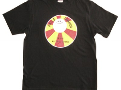 Smile Jamaica 赤 Tシャツ(黒)