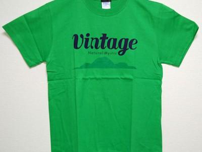 VINTAGE Tシャツ(ブライトグリーン)
