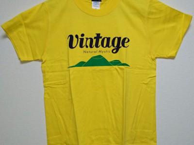 VINTAGE Tシャツ(イエロー)