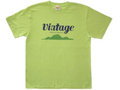 VINTAGE Tシャツ(ライムグリーン)