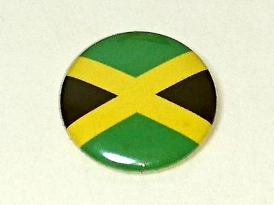 ジャマイカ国旗 缶バッチ