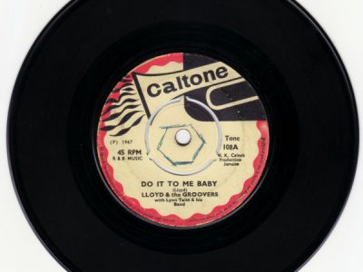 Lloyd & The Groovers With Lynn Taitt & His Band – Do It To Me Baby