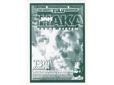 JAH SHAKA SOUND SYSTEM 1996 at WESTINDIAN Cultural Centre