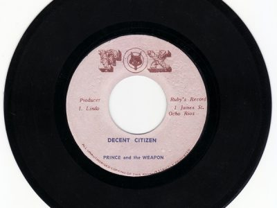 Prince And The Weapon – Decent Citizen