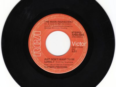 The Main Ingredient – Just Don't Want To Be Lonely