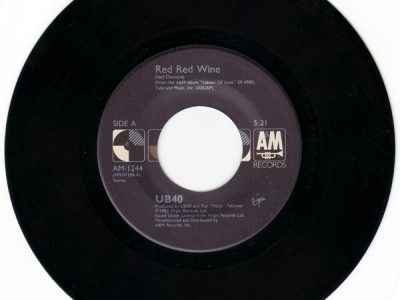 UB40 ‎- Red Red Wine
